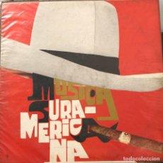 Discos de vinilo: LP COLOMBIANO DE ARTISTAS VARIOS MÚSICA SURAMERICANA. Lote 280120683