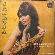 Discos de vinilo: LP COLOMBIANO DE JAIME LLANO GONZÁLEZ Y SU CONJUNTO RÍTMICO AÑO 1968. Lote 280121238