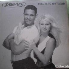 Discos de vinilo: EGMA TELL IT TO MY HEART. Lote 280122063