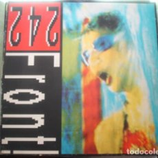 Discos de vinilo: FRONT 242 NEVER STOP!. Lote 280122163