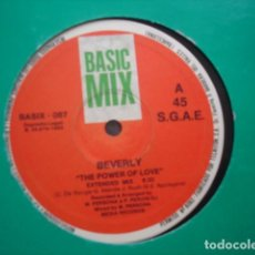 Discos de vinilo: BEVERLY THE POWER OF LOVE. Lote 280122248
