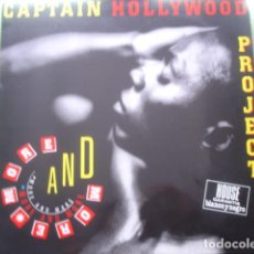 Discos de vinilo: CAPTAIN HOLLYWOOD PROJECT  MORE AND MORE. Lote 280122558