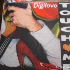 Discos de vinilo: DIGILOVE TOUCH ME. Lote 280122978