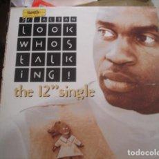 Discos de vinilo: DR. ALBAN  LOOK WHOS TALKING! (THE 12 SINGLE). Lote 280123223