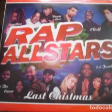 Discos de vinilo: RAP ALLSTARS  LAST CHRISTMAS. Lote 280123478