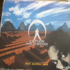 Discos de vinilo: CAPTAIN HOLLYWOOD PROJECT FIND ANOTHER WAY. Lote 280123688