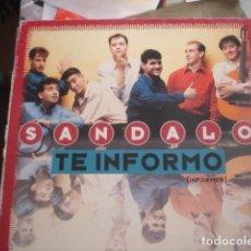Discos de vinilo: SANDALO TE INFORMO (INFORMER). Lote 280123843