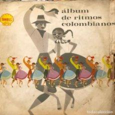 Discos de vinilo: LP COLOMBIANO Y DOBLE ÁLBUM DE RITMOS COLOMBIANOS. Lote 280124603