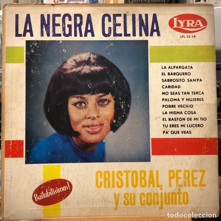 LP COLOMBIANO DE CRISTÓBAL PÉREZ Y SU CONJUNTO AÑO 1965 (Música - Discos - LP Vinilo - Grupos y Solistas de latinoamérica)