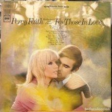 Discos de vinilo: LP ESTADOUNIDENSE DE PERCY FAITH Y SU ORQUESTA AÑO 1968 REEDICIÓN. Lote 280126253