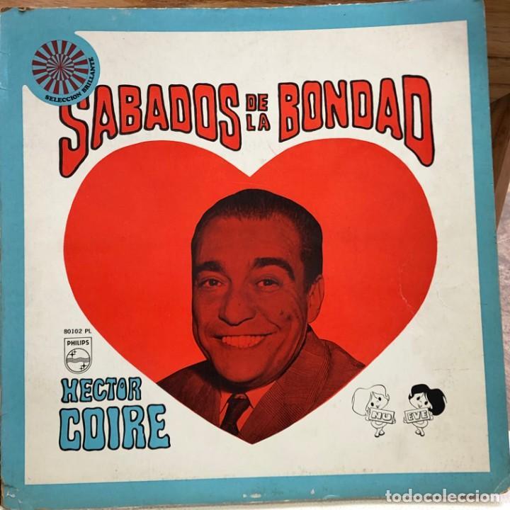 LP ARGENTINO DE ARTISTAS VARIOS SÁBADOS DE LA BONDAD AÑO 1968 (Música - Discos - LP Vinilo - Grupos y Solistas de latinoamérica)