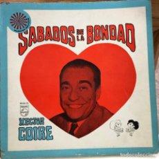 Discos de vinilo: LP ARGENTINO DE ARTISTAS VARIOS SÁBADOS DE LA BONDAD AÑO 1968. Lote 280127243