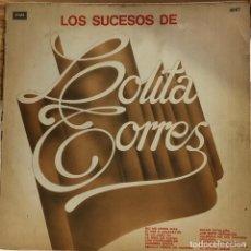 Discos de vinilo: LP ARGENTINO Y RECOPILATORIO DE LOLITA TORRES AÑO 1966 REEDICIÓN. Lote 280129383