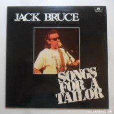 Discos de vinilo: LP - JACK BRUCE - SONGS FOR A TAILOR - POLYDOR. Lote 280197138