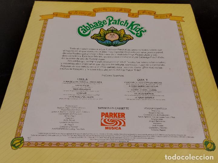 Discos de vinilo: CABBAGE PATCH KIDS / FELICES SUEÑOS / LP - PARKER MUSICA-1984 / MBC. ***/*** LETRAS - Foto 2 - 280201153