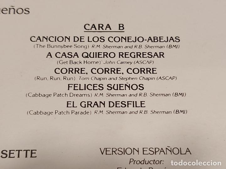 Discos de vinilo: CABBAGE PATCH KIDS / FELICES SUEÑOS / LP - PARKER MUSICA-1984 / MBC. ***/*** LETRAS - Foto 4 - 280201153