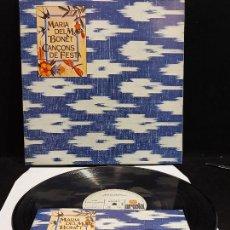 Discos de vinilo: MARIA DEL MAR BONET / CANÇONS DE FESTA / LP-GATEFOLD - ARIOLA-1976. ***/*** + LIBRETO. Lote 280201803