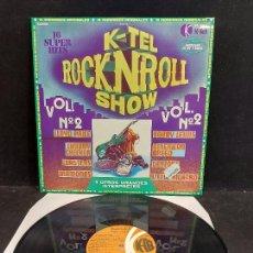 Discos de vinilo: ROCK'N'ROLL SHOW. VOL. 2 / VARIOS GRUPOS O ARTISTAS / LP - K-TEL-1978 / MBC. ***/***. Lote 280205728