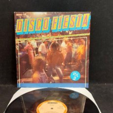 Discos de vinilo: DISCO FIESTA. VOL. 2 / DIVERSOS ARTISTAS / LP - DIAMANTE-1987 / MBC. ***/***. Lote 280206348