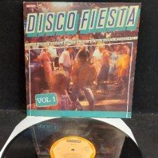 Discos de vinilo: DISCO FIESTA. VOL. 1 / DIVERSOS ARTISTAS / LP - DIAMANTE-1987 / MBC. ***/***. Lote 280206568