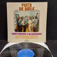 Discos de vinilo: RUDY VENTURA Y SU ORQUESTA / PISTA DE BAILE / LP - BELTER-1973 / MBC. ***/***. Lote 280210808