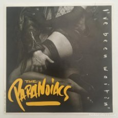 Discos de vinilo: THE PARANOIACS – I'VE BEEN WAITIN', BELGIUM 1989 PLAY IT AGAIN SAM RECORDS. Lote 280214548