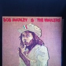 Discos de vinilo: LP GATEFOLD, BOB MARLEY & THE WAILERS - RASTAMAN VIBRATION, 1976 ESPAÑA, IMPECABLE, COMO NUEVO. Lote 280214923
