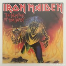 Discos de vinilo: IRON MAIDEN – THE NUMBER OF THE BEAST, GERMANY 1982 EMI. Lote 280215013