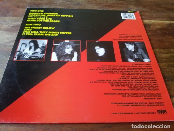 Discos de vinilo: Tank - Tank - Lp original GWR records 1987 edicion UK - Foto 2 - 280217508