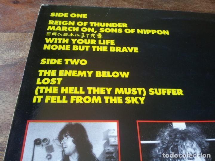 Discos de vinilo: Tank - Tank - Lp original GWR records 1987 edicion UK - Foto 3 - 280217508