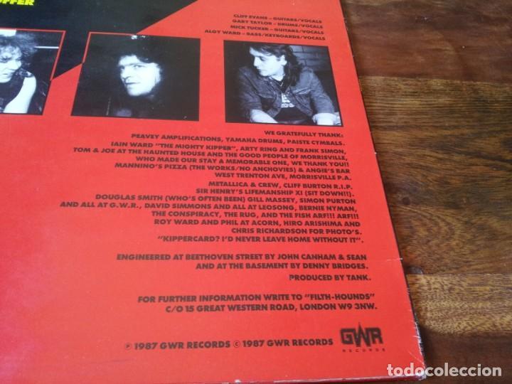 Discos de vinilo: Tank - Tank - Lp original GWR records 1987 edicion UK - Foto 4 - 280217508