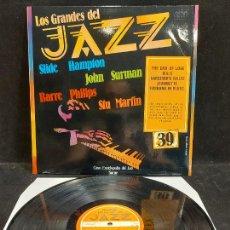 Discos de vinilo: LOS GRANDES DEL JAZZ / 39 / VARIOS ARTISTAS / LP - SARPE-1981 / MBC. ***/***. Lote 280269408