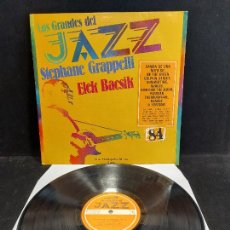 Discos de vinilo: LOS GRANDES DEL JAZZ / 84 / VARIOS ARTISTAS / LP - SARPE-1982 / MBC. ***/***. Lote 280269663