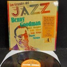 Discos de vinilo: LOS GRANDES DEL JAZZ / 4 / VARIOS ARTISTAS / LP - SARPE-1980 / MBC. ***/***. Lote 280269778