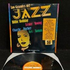 Discos de vinilo: LOS GRANDES DEL JAZZ / 14 / VARIOS ARTISTAS / LP - SARPE-1980 / MBC. ***/***. Lote 280270098