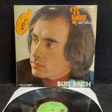 Discos de vinilo: LLUÍS LLACH / COM UN ARBRE NU / LP - MOVIE PLAY-1972 / MBC. ***/***. Lote 280272668