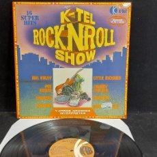 Discos de vinilo: ROCK'N'ROLL SHOW / VARIOS GRUPOS O ARTISTAS / LP - K-TEL-1977 / MBC. ***/***. Lote 280274368