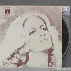 Discos de vinilo: LP. ...DEL MIO MEGLIO. MINA. Lote 295463223