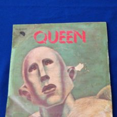Discos de vinilo: QUEEN (DEL LP NEWS OF THE WORLD) WE ARE THE CHAMPIONS - WE WILL ROCK YOU. Lote 280290843