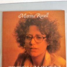 Discos de vinilo: MARINA ROSSELL, BRUIXES I MADUIXES, LP. Lote 280374288