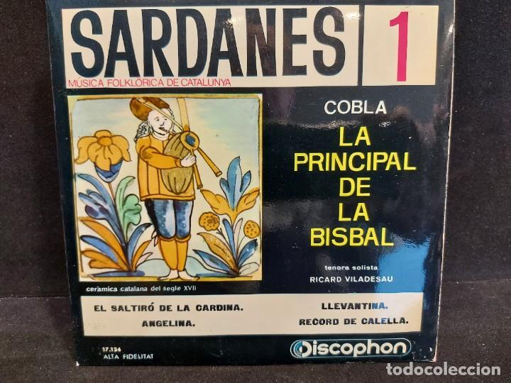 Discos de vinilo: COBLA LA PRINCIPAL DE LA BISBAL / SARDANAS / CONJUNTO DE 9 EPS-DISCOPHON / DE MUY BUENA CALIDAD. - Foto 2 - 280379783