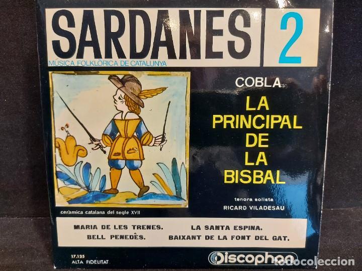 Discos de vinilo: COBLA LA PRINCIPAL DE LA BISBAL / SARDANAS / CONJUNTO DE 9 EPS-DISCOPHON / DE MUY BUENA CALIDAD. - Foto 3 - 280379783