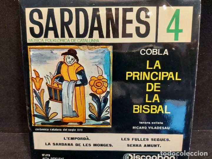 Discos de vinilo: COBLA LA PRINCIPAL DE LA BISBAL / SARDANAS / CONJUNTO DE 9 EPS-DISCOPHON / DE MUY BUENA CALIDAD. - Foto 5 - 280379783