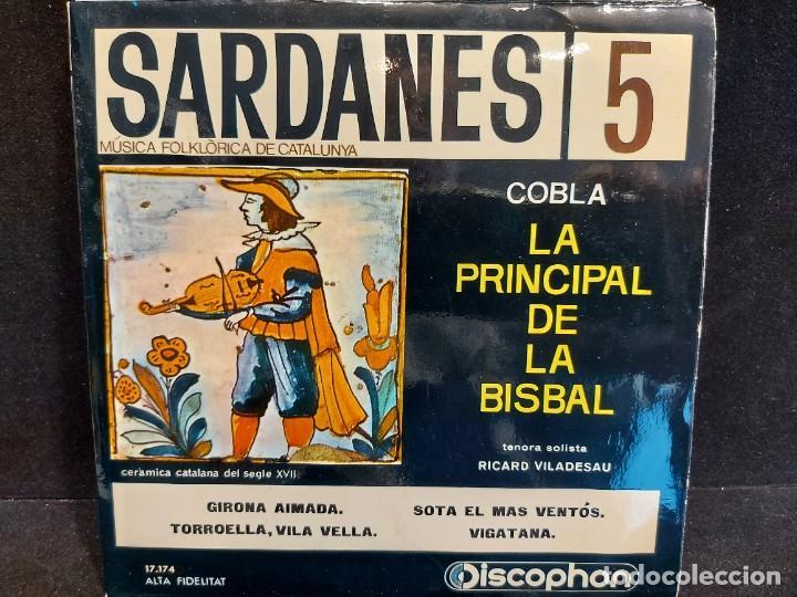 Discos de vinilo: COBLA LA PRINCIPAL DE LA BISBAL / SARDANAS / CONJUNTO DE 9 EPS-DISCOPHON / DE MUY BUENA CALIDAD. - Foto 6 - 280379783