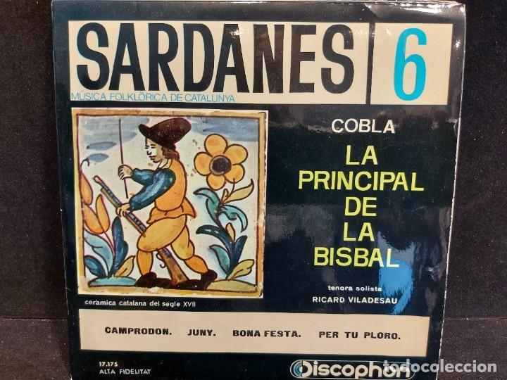 Discos de vinilo: COBLA LA PRINCIPAL DE LA BISBAL / SARDANAS / CONJUNTO DE 9 EPS-DISCOPHON / DE MUY BUENA CALIDAD. - Foto 7 - 280379783