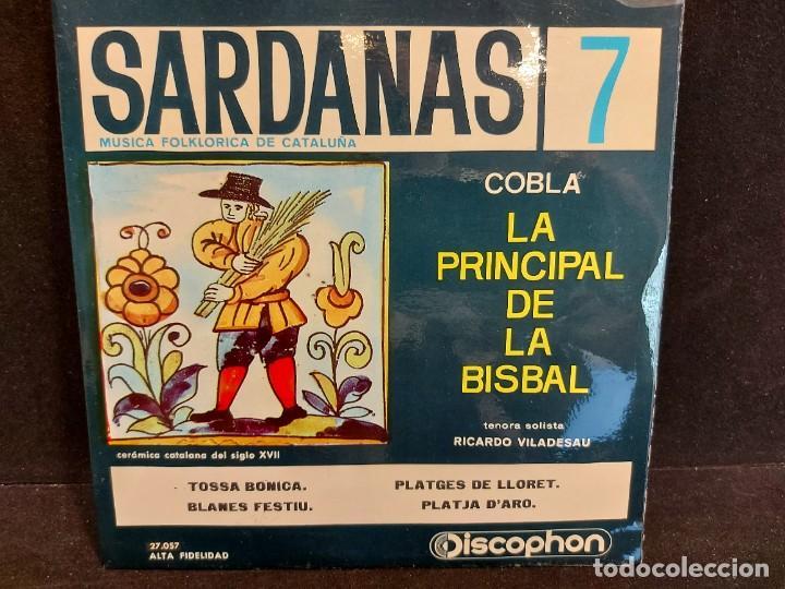 Discos de vinilo: COBLA LA PRINCIPAL DE LA BISBAL / SARDANAS / CONJUNTO DE 9 EPS-DISCOPHON / DE MUY BUENA CALIDAD. - Foto 8 - 280379783