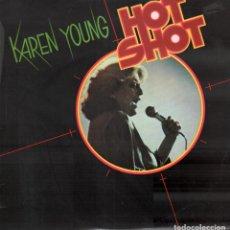 Disques de vinyle: KAREN YOUNG - HOT SHOT / LP ATLANTIC DE 1978 / EDICION ESPAÑOLA / BUEN ESTADO RF-9954. Lote 280386058