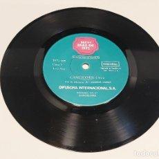 Discos de vinilo: 33 R.P.M. / 365+ 1 DÍAS DE 1972 / VOCES Y CANCIONES / EP-DIFUSORA INTERNACIONAL-1973 / MBC. ***/***. Lote 280387583