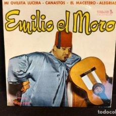 Discos de vinilo: EMILIO EL MORO / MI OVEJITA LUCERA + 3 / EP - TOREADOR-1961 / MBC. ***/***. Lote 280394578