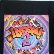 Discos de vinilo: 2XLP VARIOUS - ¡BOOM! 2 (EL DISCO DE LOS EXITOS) 1986 ESPAÑA. Lote 280396368